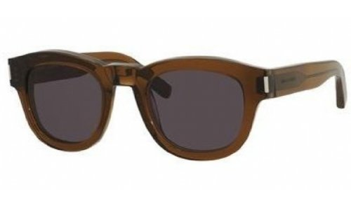 Yves Saint Laurent Yves Saint Laurent Bold 2/S Sunglasses-0K7M Brown (Y1 Gray Lens)-49mm