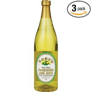 Amazon.com : Rose's Lime Juice, 25-Ounce Bottles (Pack of 3 ...