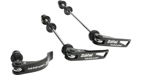 Zefal Locking Bicycle Hub Skewer (3-Piece Front/Rear/Seatpost)