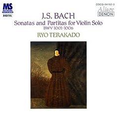 寺神戸亮  独奏 バッハ:無伴奏ヴァイオリンのためのソナタとパルティータのAmazonの商品頁を開く