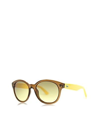 Lacoste Gafas de Sol L-733S-210 (51 mm) Marrón