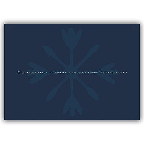 1 Weihnachtskarte: O du seelige - Verschicken Sie eine gnadenbringende Weihnachtszeit