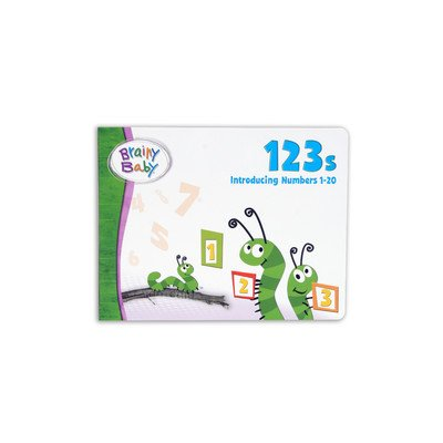 Brainy Baby 123's Board Book - 1