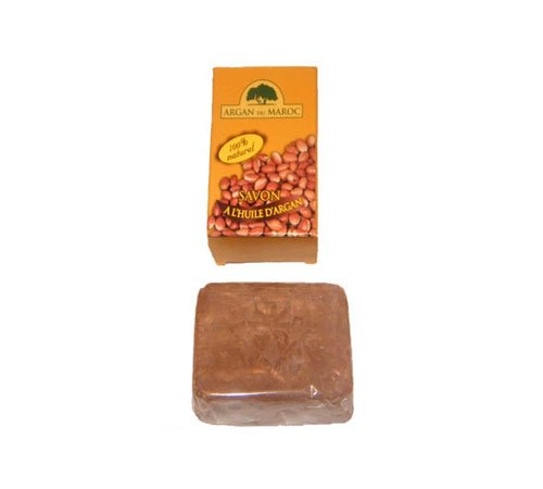 Moroccan 100% natural moisturising argan oil soap bar 100g