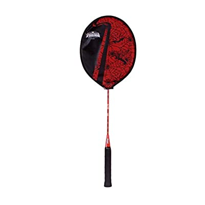 Disney Spiderman Badminton Racquet, Junior G4 (Red)