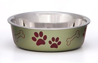 Bella Bowls Dog Bowl, Metallic