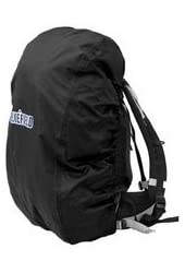 KLOUD City ®Black nylon backpack rain cover for hiking / camping / traveling (Size: M)