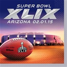 Super Bowl XLIX Lunch Napkins 16 per pack - 1