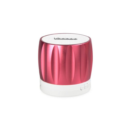 Yoobao Ybl202 Portable Wireless Bluetooth Mini-Speaker With Rechargeable Battery Bulit-In Speakerphone Surpport Tf Memory Card Playing And Radio Function Red