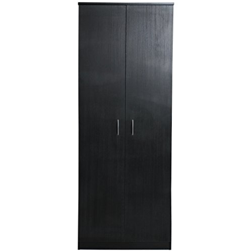 devoted2home-budget-bedroom-furniture-with-2-door-wardrobe-wood-black-ash-498-x-668-x-180-cm