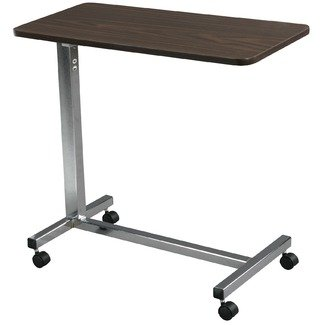 "Overbed Table Orthopedic Over Bed Adjustable Hospital Table is much more than a bed side or hospital table. The large surface area can be used as a card table, hobby and crafts table or even for those special ""breakfast in bed"" occasions! The Over Bed bed"