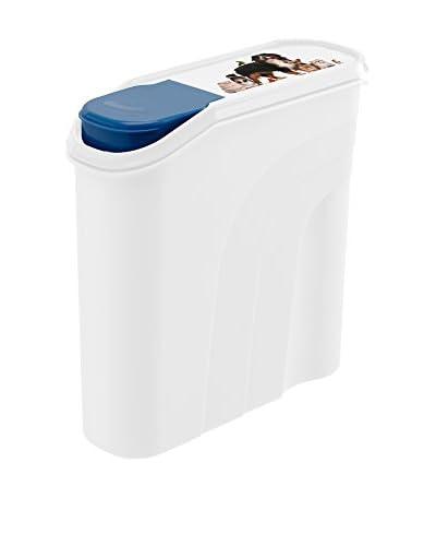Rotho Set Contenedor de Comida para Animales 4 Uds. 4.1 L Blanco/Azul