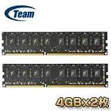 Teamメモリー Lo-DIMM 240pin DDR3 1866MHz 4GBx2枚組メモリー TED38G1866C13DC