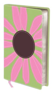 KJV-THINLINE-BLOOM-COLLECTION-COMPACT-PINK-DAISY-By-No-Author-BRAND-NEW