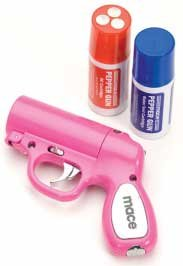 Mace Pepper Spray Pepper Gun (Pink)