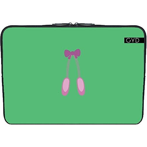 "Coperchio Neoprene Laptop Netbook PC 13.3 ""pollici - Ballerine by ilovecotton"
