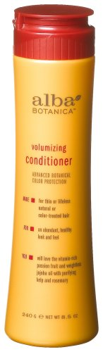 Alba Botanica Volumizing Conditioner, 8.5-Ounce Bottle (Pack of 2)
