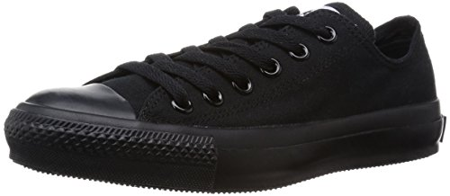 CONVERSE Chuck Tailor All Star Ox Canvas - Sneakers unisex - adulto, colore Nero ( Black Mono ), taglia 43