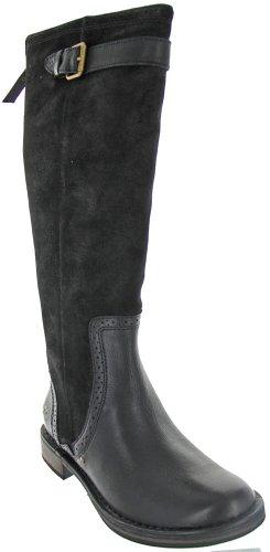UGG Australia Castille Black Suede Boot 9.5 M US