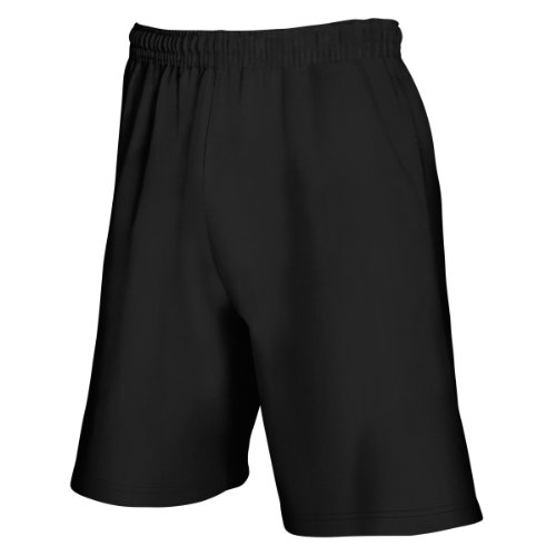Fruit Of The Loom - Pantaloncini Casual - Uomo (L) (Nero)