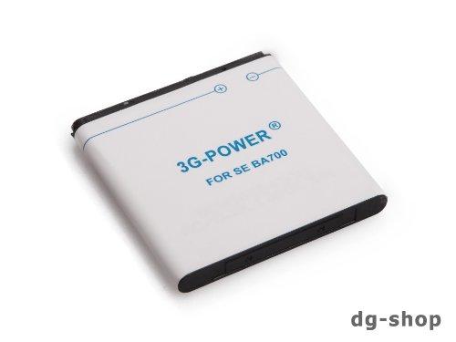 Akku Accu Batterie Battery für Sony Ericsson Xperia Ray Pro ST18i MK16i Xperia Neo Neo V MT15i MT11i BA700 BA 700 BA-700 1800 mAh