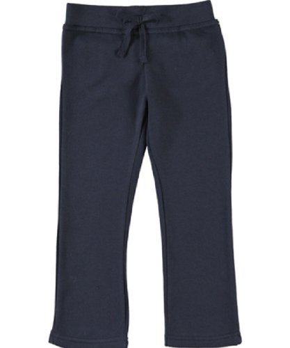 French Toast Girl's School Uniform Sweat Pants w/ Back Pockets (Sz 5 Navy)