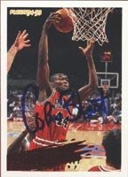 Corie Blount Chicago Bulls 1995 Fleer Autographed Hand Signed Trading Card - Rookie... by Hall+of+Fame+Memorabilia