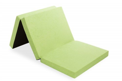 design klappmatratze 190 cm aus schaumstoff inkl tragetasche farbe w hlbar g stebett. Black Bedroom Furniture Sets. Home Design Ideas