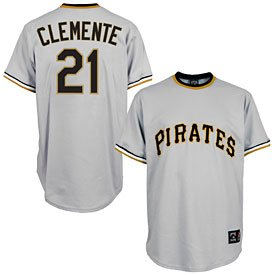 Pittsburgh Pirates Roberto Clemente Cooperstown Replica Jersey by The Pittsburgh Fan