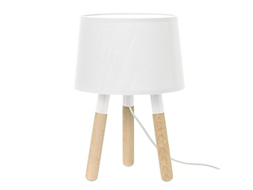 LEITMOTIV LM1038 - Lampada da tavolo, bianco
