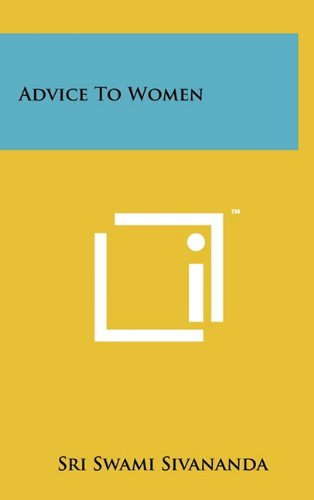 Advice to Women
