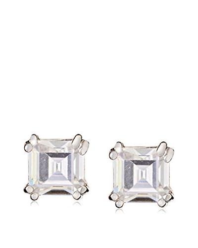 CZ by Kenneth Jay Lane KE085 CLSI Asscher Cz Stud Post Earrings