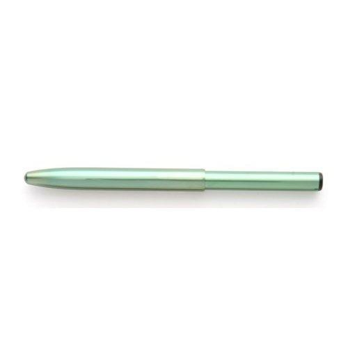 瑞穂化粧筆 携帯用押出リップブラシ 平型 グリーン 熊野筆