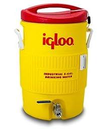 Learn To Brew Mash Tun Igloo Ton with Stainless Steel False Bottom & Valve, 10 gallon