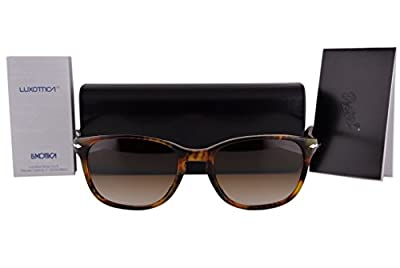 Persol PO3133S Sunglasses Coffee Havana w/Brown Gradient Lens 52mm 901651 PO 3133S