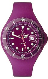 Toy Jelly Purple Dial Unisex Watch #JY18AM