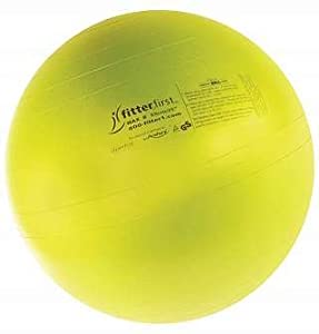 Classic Blue PVC Exercise & Therapy Ball (18 in.)