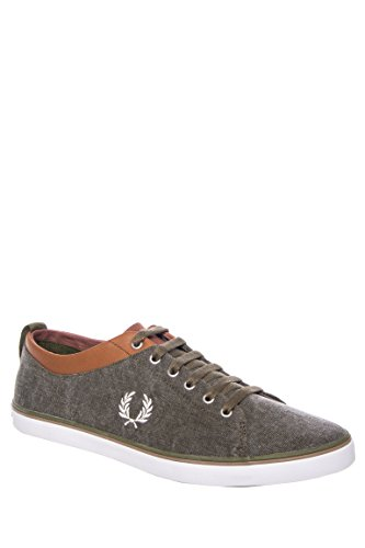 Men's Hallam Printed Canvas Low Top Sneaker