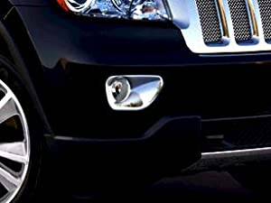 Jeep Grand Cherokee 2011-2012 CHROME Fog Lamp Bezels, Mopar from Mopar