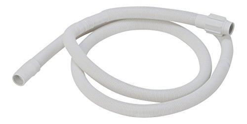 DREHFLEX® - tubo flessibile di drenaggio per lavastoviglie di Bauknecht / Whirlpool / Ignis / Ikea etc. - compatibile con 481253029113