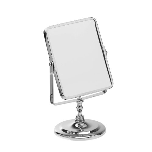 Small Swivel Mirror With Chrome Stand & Maginifying Option
