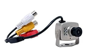 Wired Color CCTV Security Camera with AC Adapter