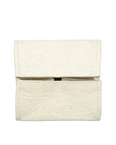 Marina Vaptzarov Vegetal Leather Valet Tray, White