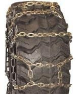 Quality Chain Maxtrack H-Pattern Square Alloy Loader/Grader 11mm Link Tire Chains (8111MT)