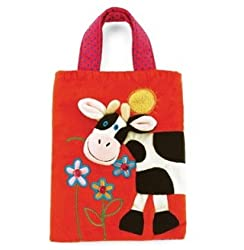 """Cow Holdall 10"""" by Jellycat"""