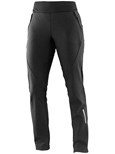 Salomon Women's Momentum Soft-Shell Pants, Large, Black (Womens Cycling Salomon compare prices)