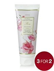 Floral Collection Rose Hand & Nail Cream 100ml