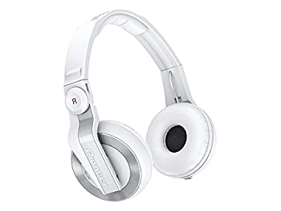 Pioneer Closed Dynamic DJ Stereo Headphones | HDJ-500-W White (Japanese Import)