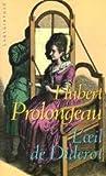 echange, troc Prolongeau H. - L'oeil de diderot