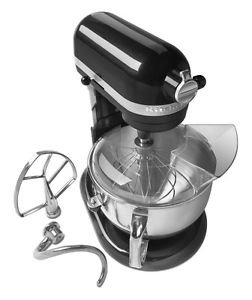 NEW Kitchenaid Kp26m1xcv PRO 600 Stand Mixer 6qt Black One Day Shipping Good Gift Fast Shipping (6 Qt Kitchenaid Mixer Black compare prices)